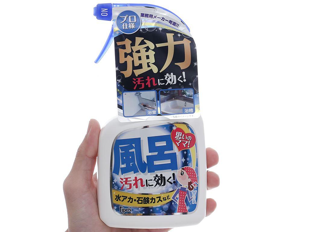 Dung dịch vệ sinh phòng tắm Tipo's chai 400ml 4