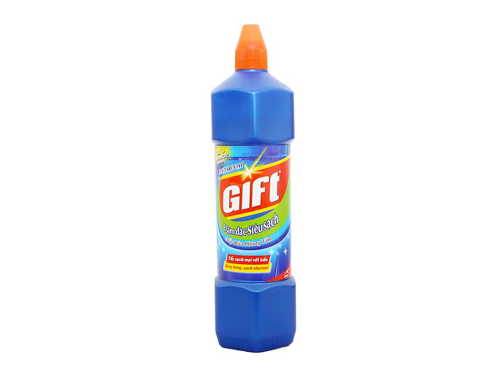 Nước tẩy nhà tắm Gift đậm đặc siêu sạch 900ml 2
