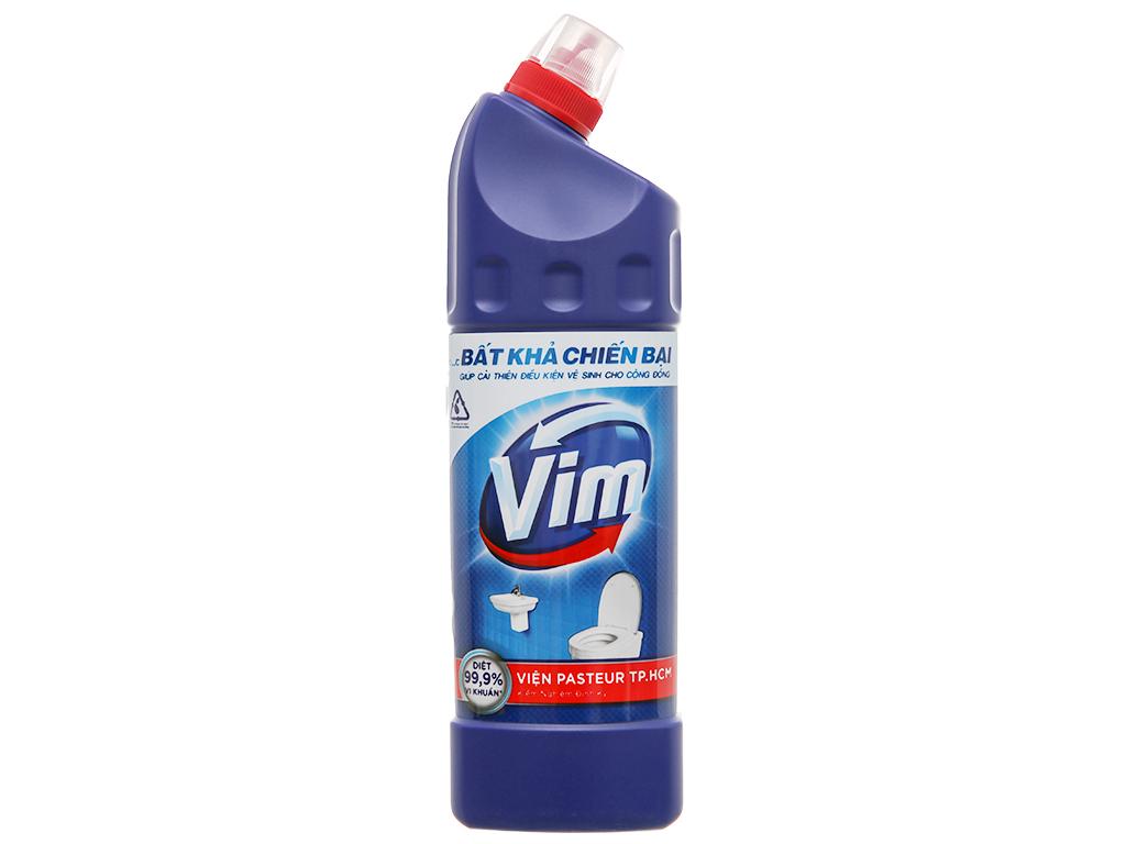 Nước tẩy bồn cầu & nhà tắm VIM diệt khuẩn 900ml 1