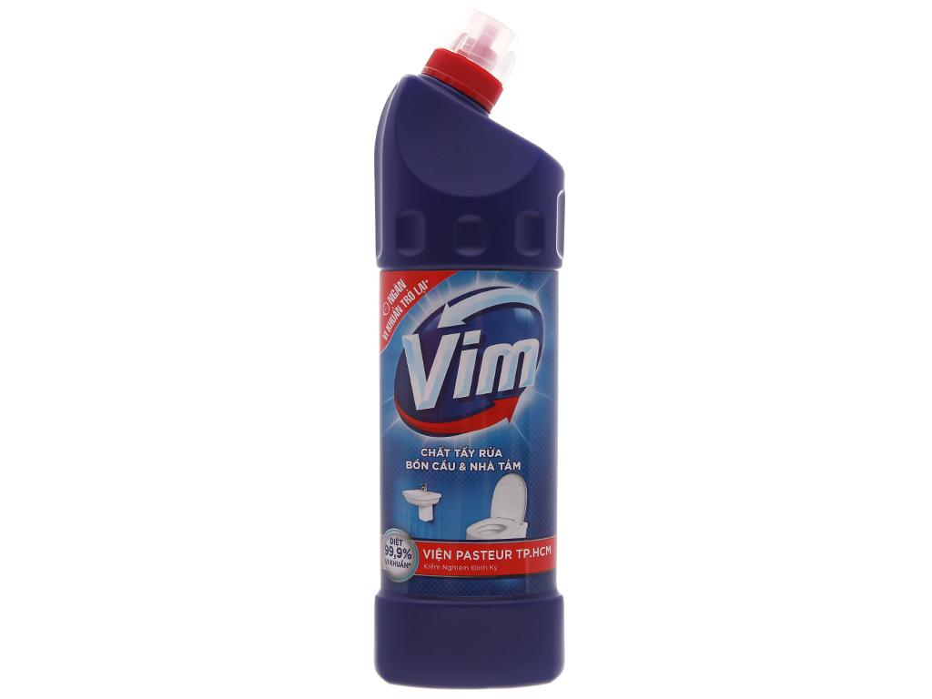 Nước tẩy bồn cầu & nhà tắm VIM diệt khuẩn 900ml 2