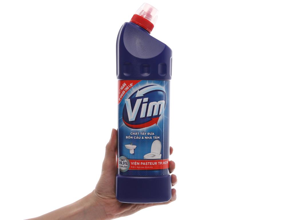 Nước tẩy bồn cầu & nhà tắm VIM diệt khuẩn 900ml 5