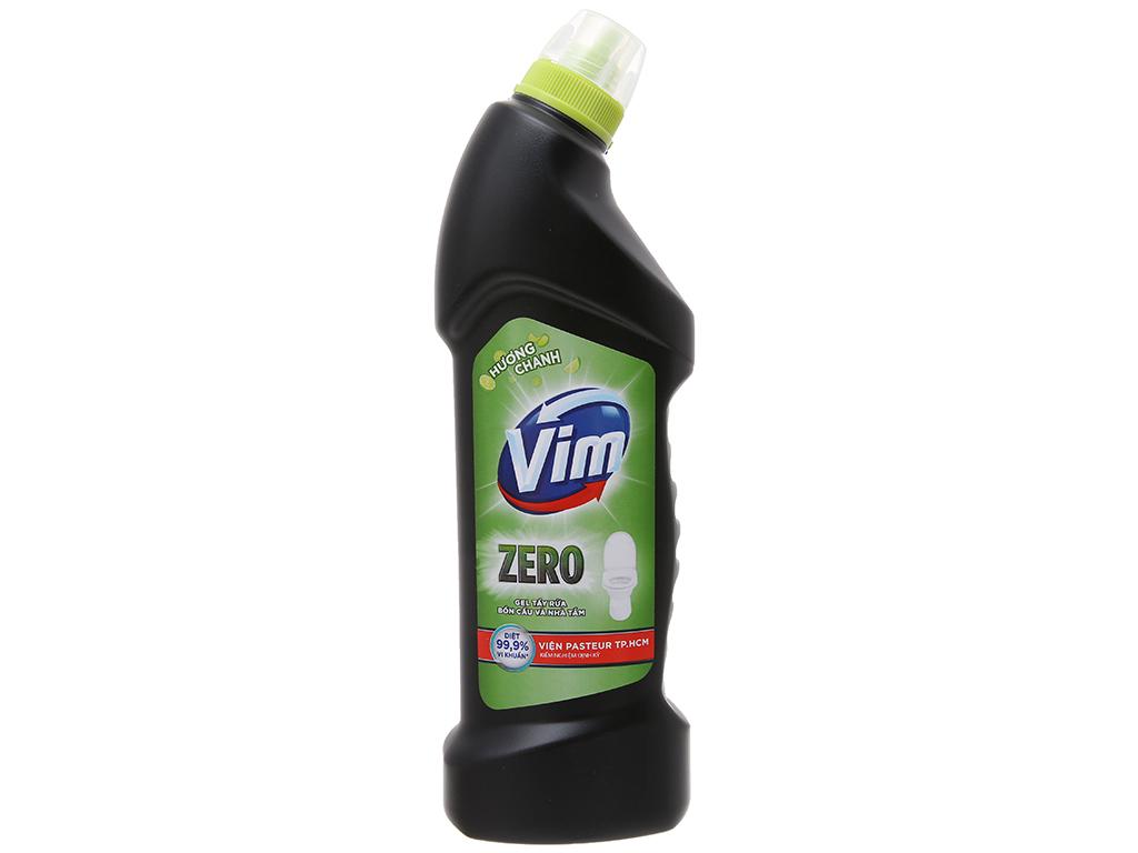 Nước tẩy bồn cầu VIM Zero hương chanh 750ml 2