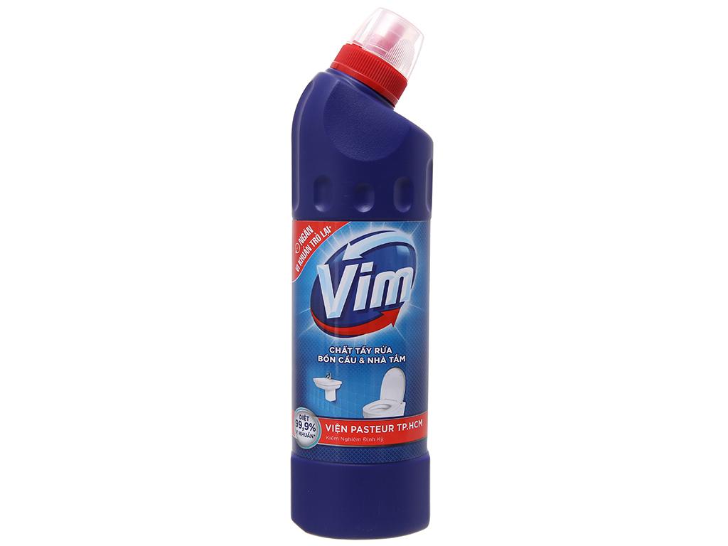 Nước tẩy bồn cầu & nhà tắm VIM diệt khuẩn 500ml 2
