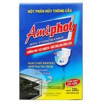 Bột thông bồn cầu Amiphot hộp 220g
