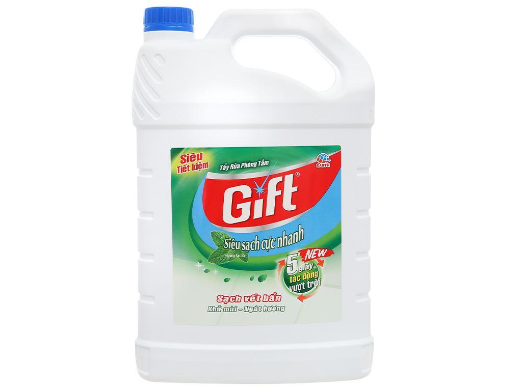 Nước tẩy nhà tắm Gift hương bạc hà 3.8kg 1