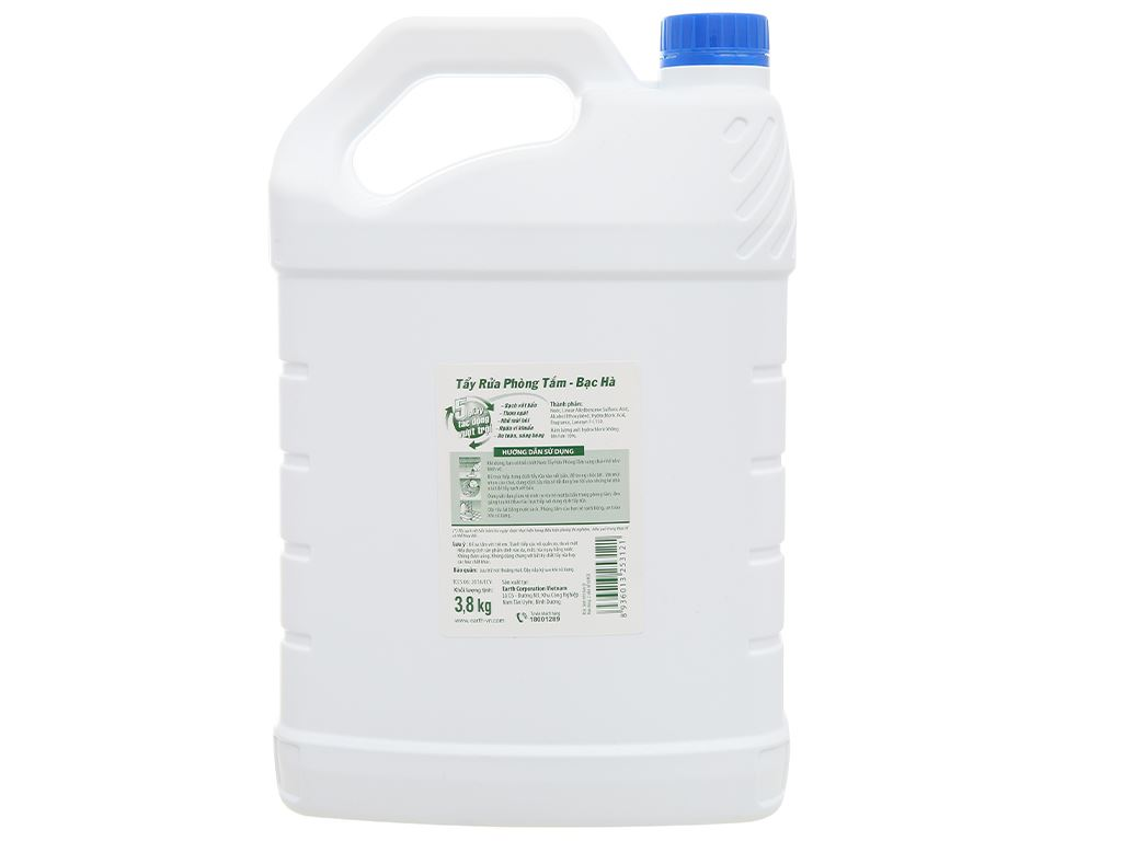 Nước tẩy nhà tắm Gift hương bạc hà 3.8kg 2