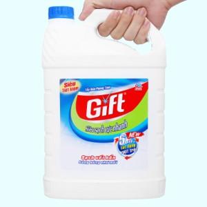 Nước tẩy nhà tắm Gift đậm đặc siêu sạch 3.8kg
