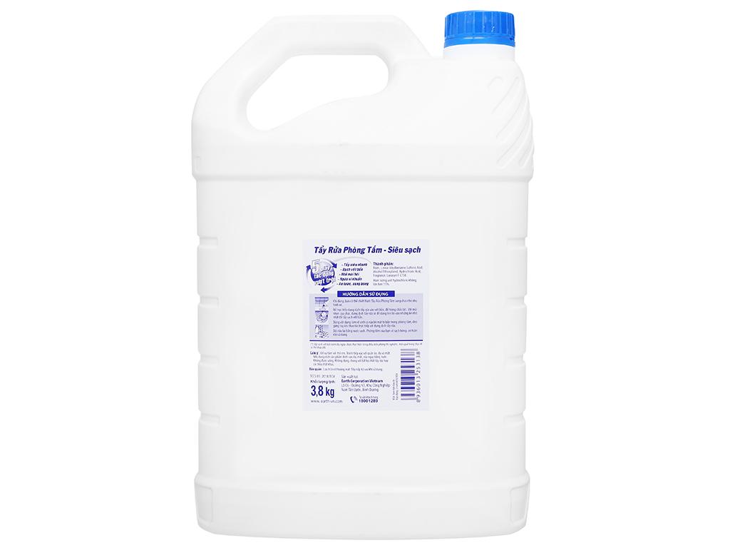 Nước tẩy nhà tắm Gift đậm đặc siêu sạch 3.8kg 2