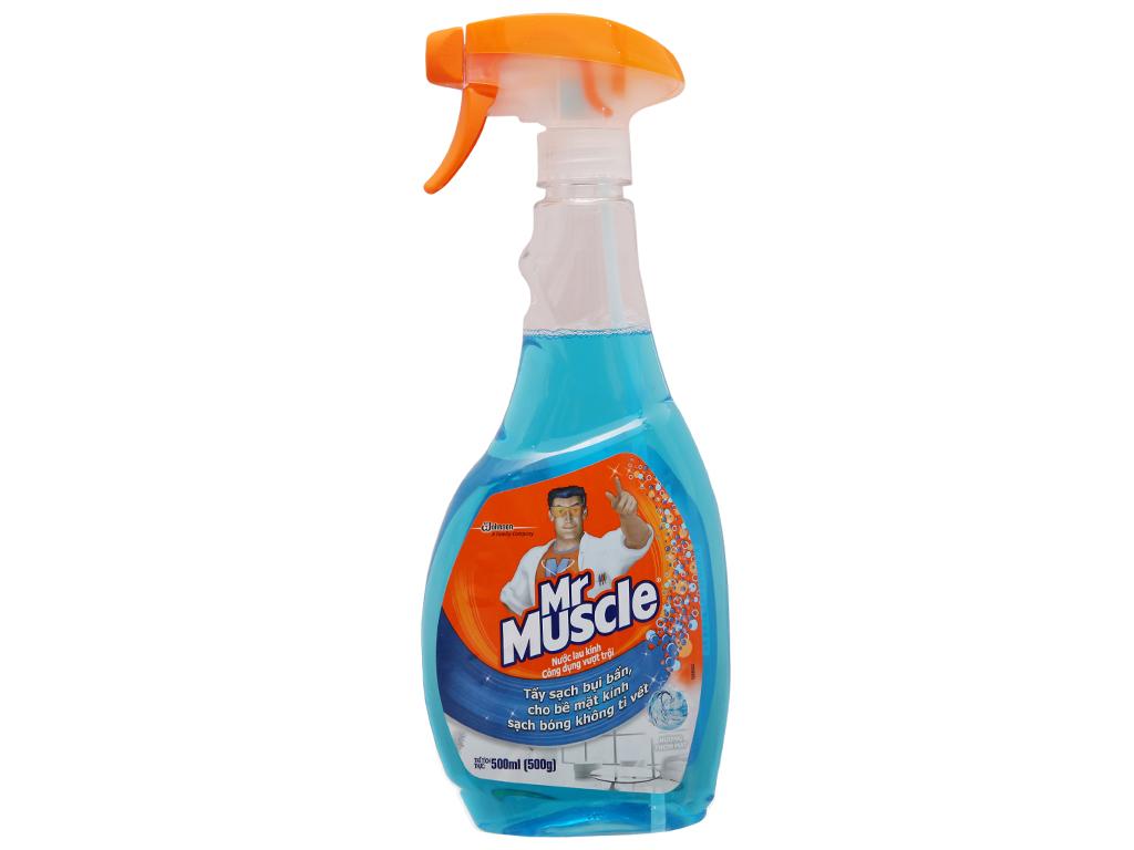 Nước lau kính Mr Muscle chai 500ml 2