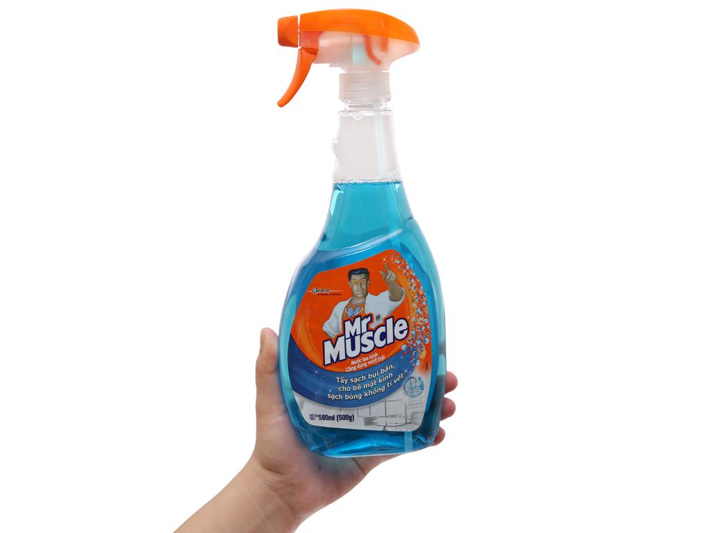 Nước lau kính Mr Muscle chai 500ml 5