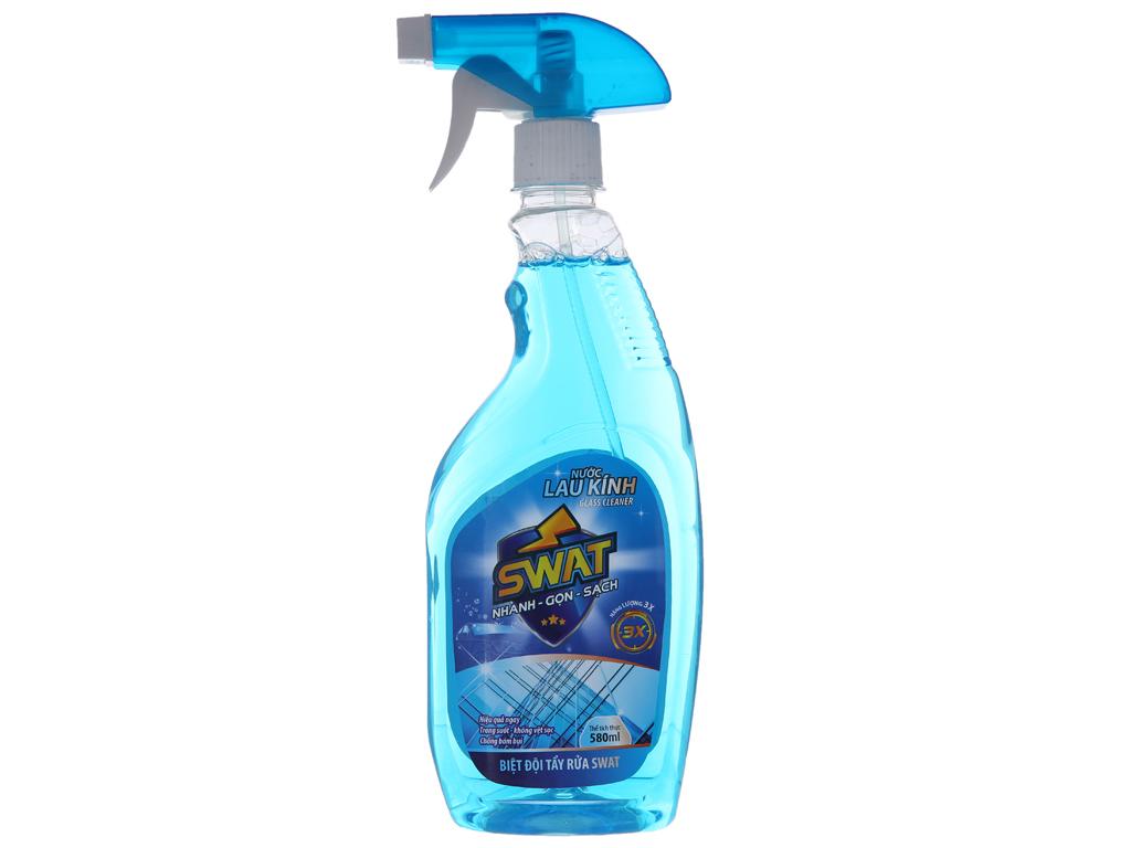 Nước lau kính Swat 580ml 2
