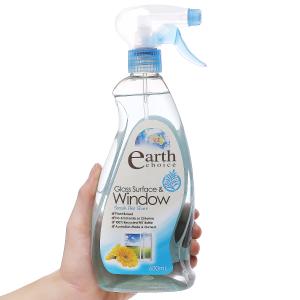 Nước lau kính Earth Choice cao cấp chai 600ml