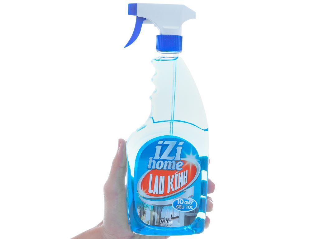 Nước lau kính IZI HOME chai 650ml 4