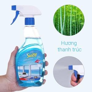 Nước lau kính Suzy hương thanh trúc chai 500ml