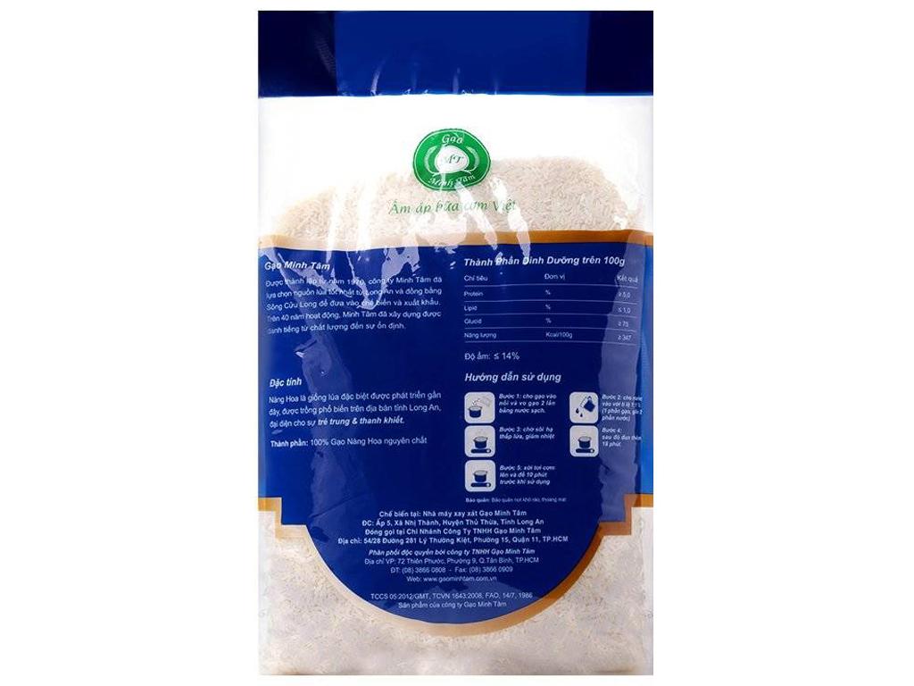 Gạo Nàng Hoa Minh Tâm túi 5kg 2