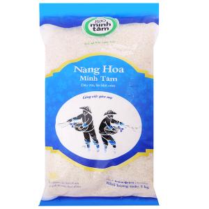 Gạo Nàng Hoa Minh Tâm túi 5kg