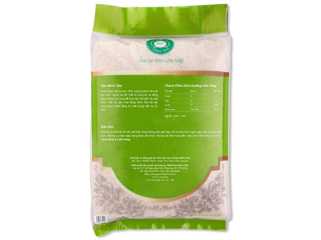 Gạo hương lài sữa Minh Tâm túi 5kg 2
