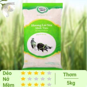 Gạo hương lài sữa Minh Tâm túi 5kg