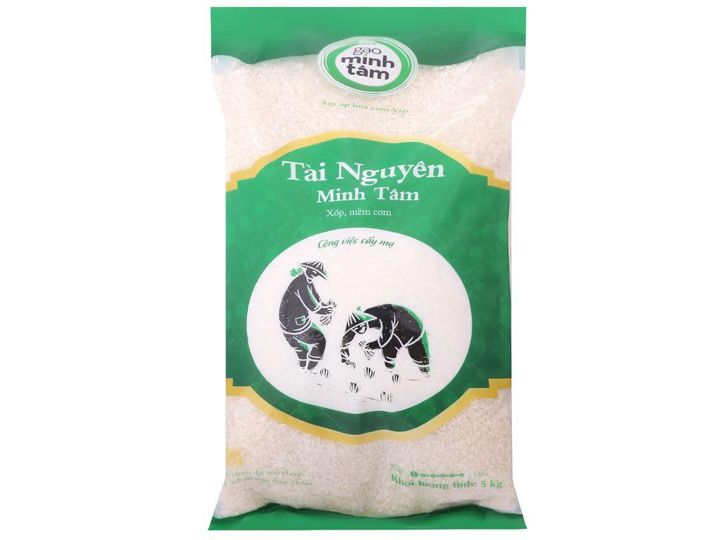 Gạo Tài Nguyên Chợ Đào Minh Tâm túi 5kg 1