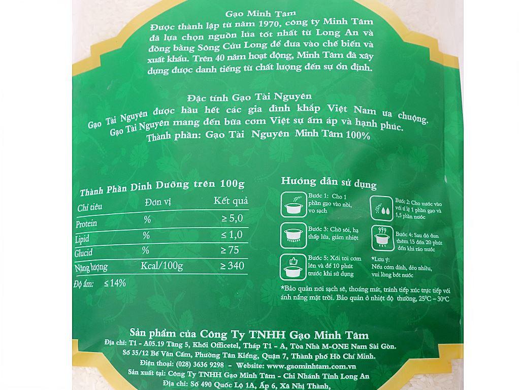 Gạo Tài Nguyên Chợ Đào Minh Tâm túi 5kg 3