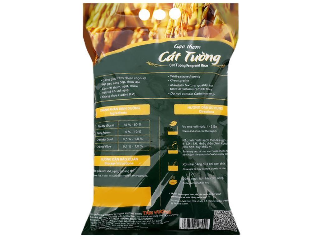 Gạo thơm Tấn Vương Cát Tường túi 5kg 3