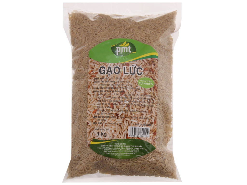 Gạo lức PMT túi 1kg 1
