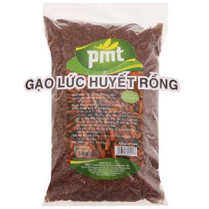 Gạo lức huyết rồng PMT túi 1kg