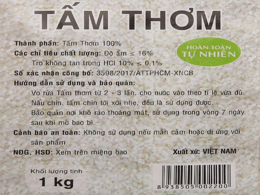 Gạo tấm thơm PMT túi 1kg 7
