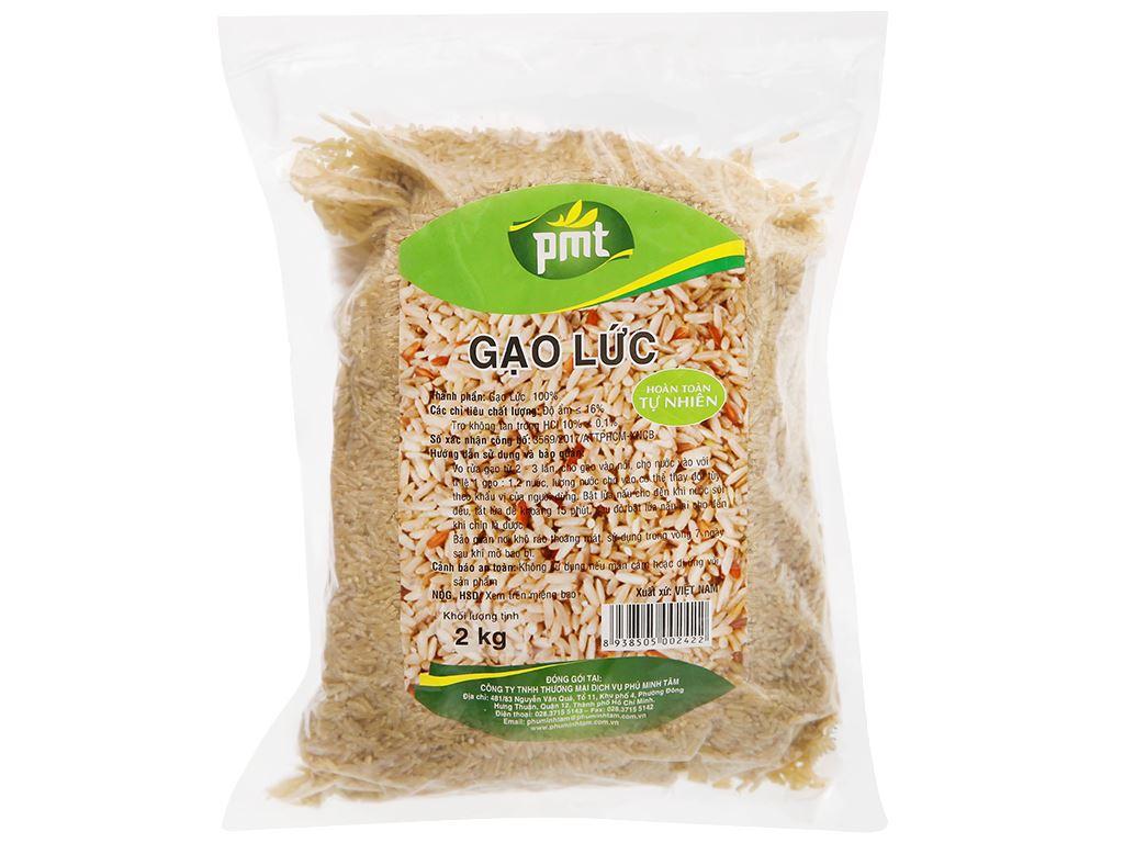 Gạo lức PMT túi 2kg 5