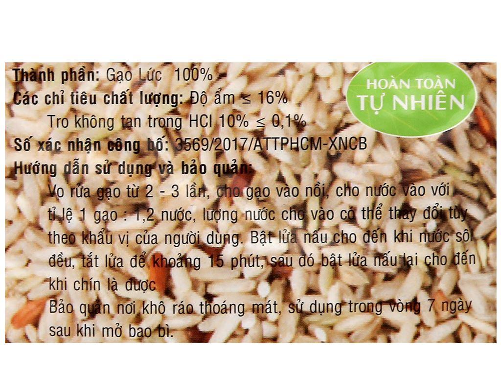 Gạo lức PMT túi 2kg 6