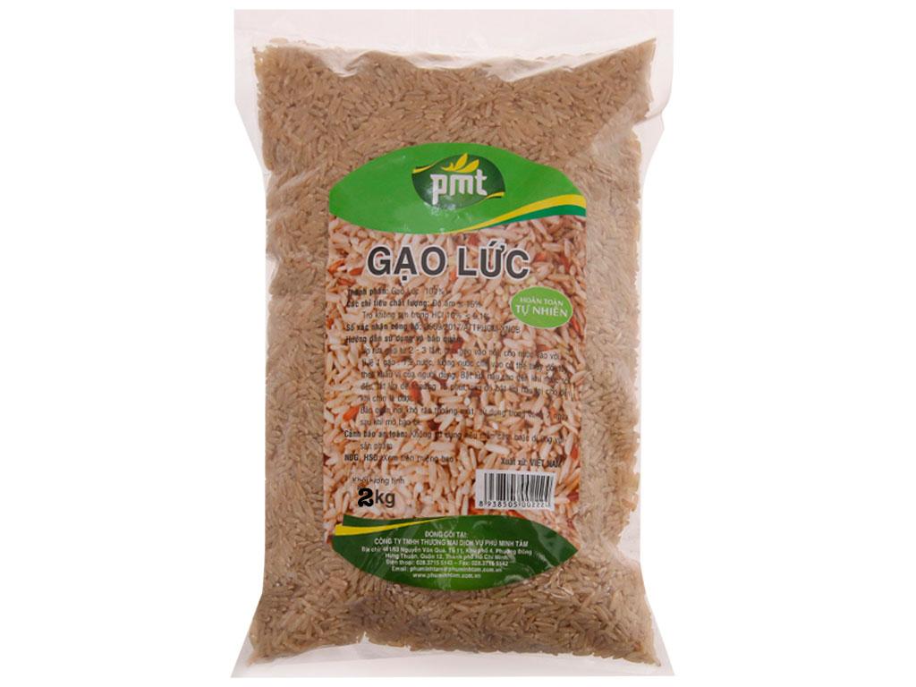 Gạo lức PMT túi 2kg 2