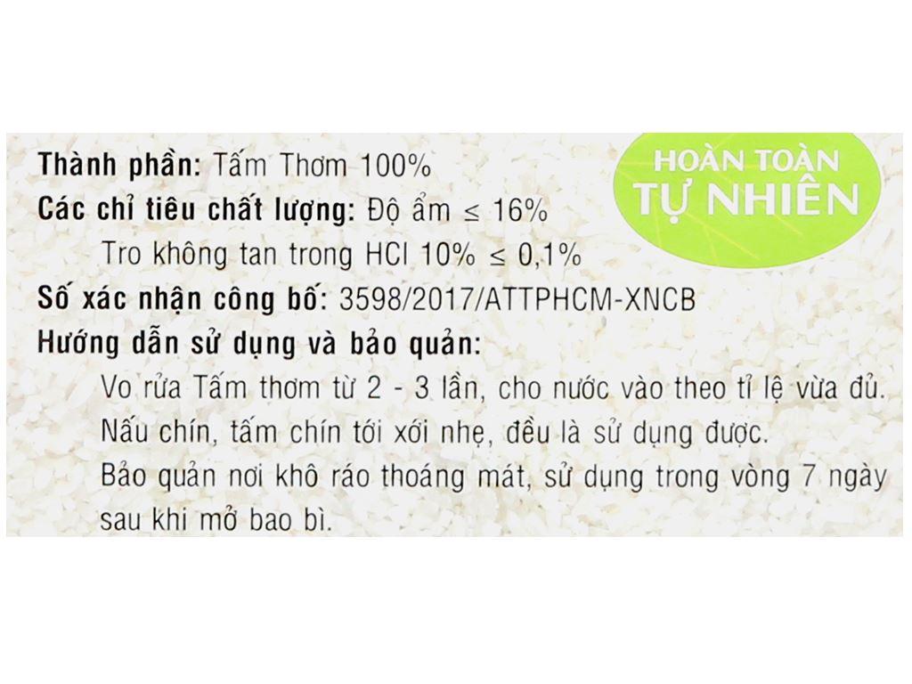 Gạo tấm thơm PMT túi 2kg 10