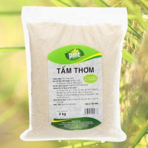 Gạo tấm thơm PMT túi 2kg