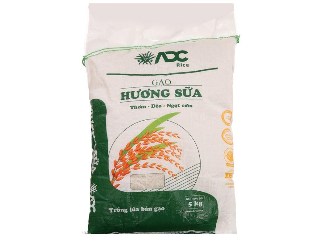 Gạo hương sữa ADC túi 5kg 2
