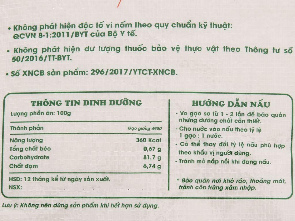 Gạo hương sữa ADC túi 5kg 5