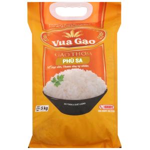 Gạo thơm Vua Gạo Phù Sa túi 5kg