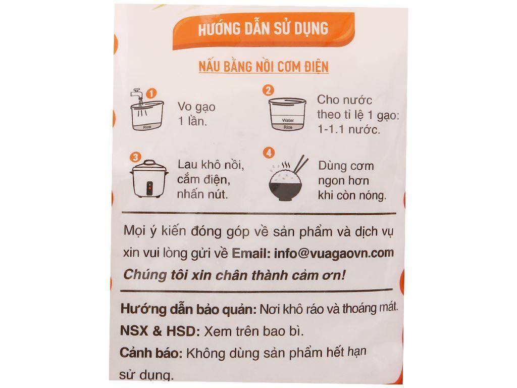 Gạo thơm Vua Gạo Phù Sa túi 5kg 3