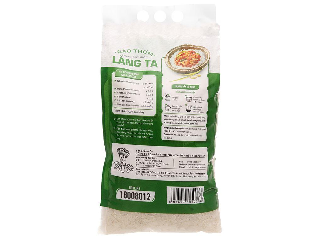 Gạo thơm Vua Gạo Làng Ta túi 5kg 13