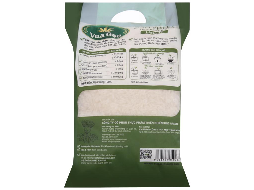 Gạo thơm Vua Gạo Làng Ta túi 2kg 2