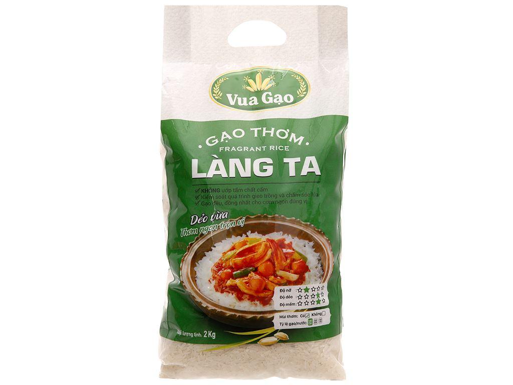 Gạo thơm Vua Gạo Làng Ta túi 2kg 5