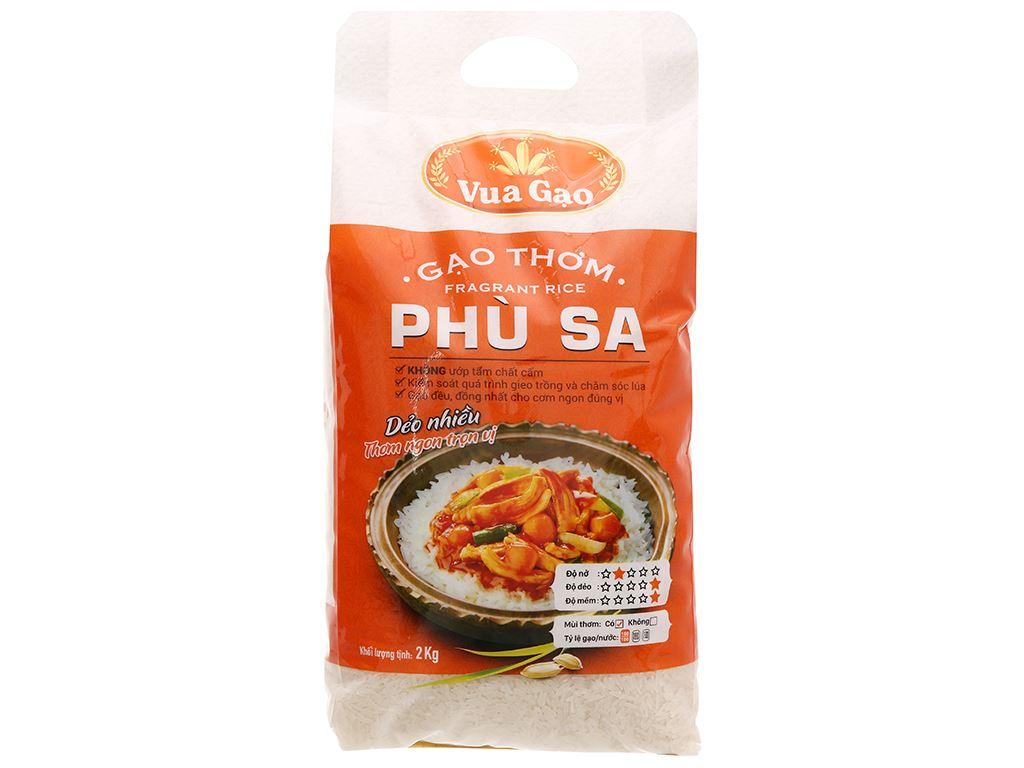 Gạo thơm Vua Gạo Phù Sa túi 2kg 1