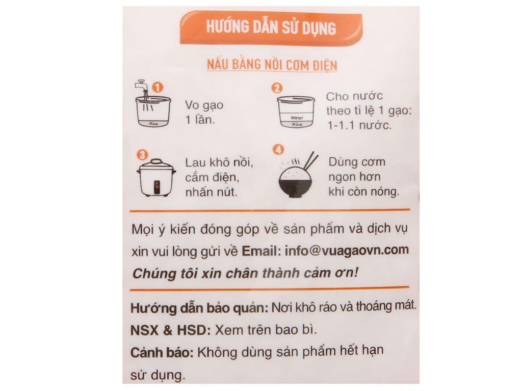 Gạo thơm Vua Gạo Phù Sa túi 2kg 3