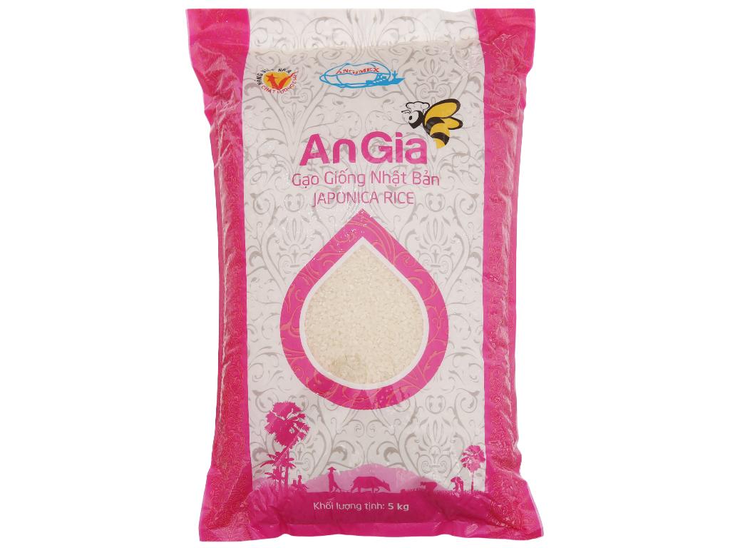 Gạo giống Nhật Bản An Gia túi 5kg 2