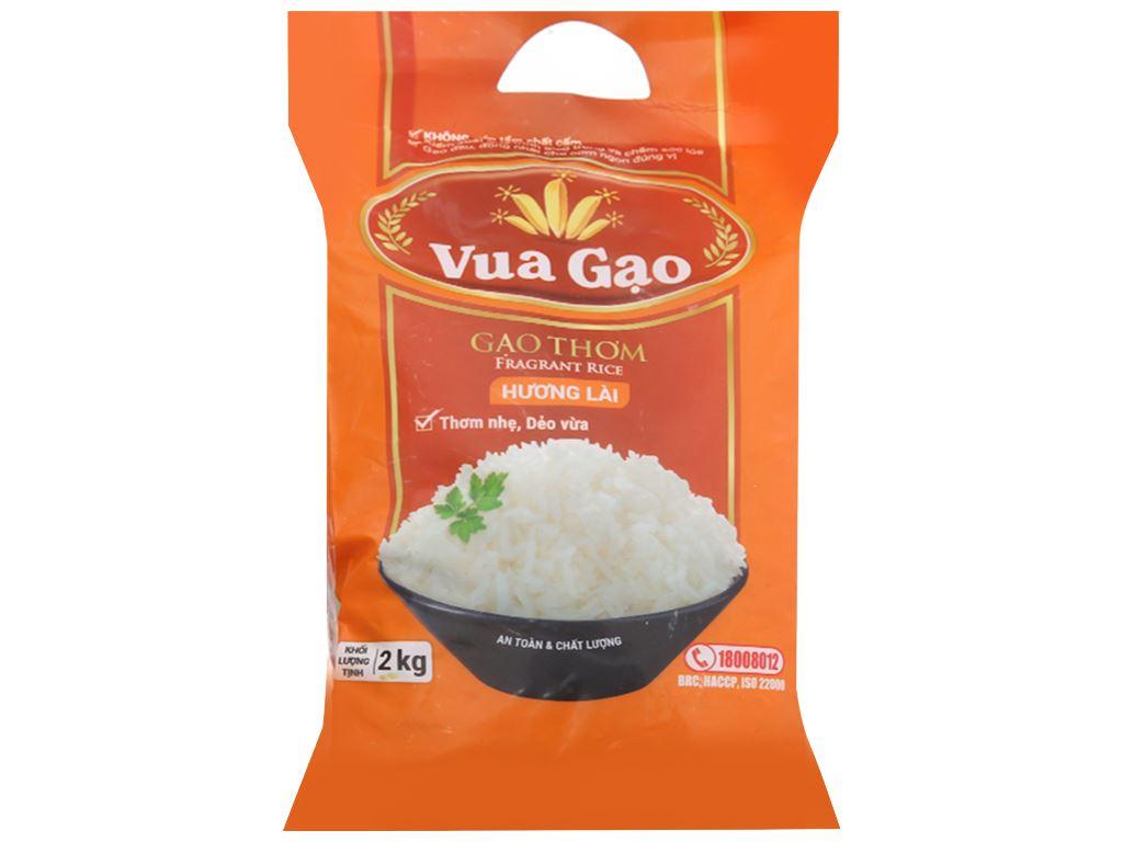 Gạo thơm hương lài Vua Gạo túi 2kg 1