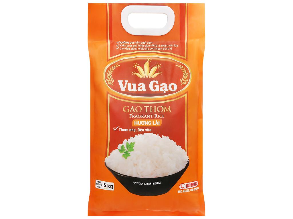Gạo thơm hương lài Vua Gạo túi 5kg 5