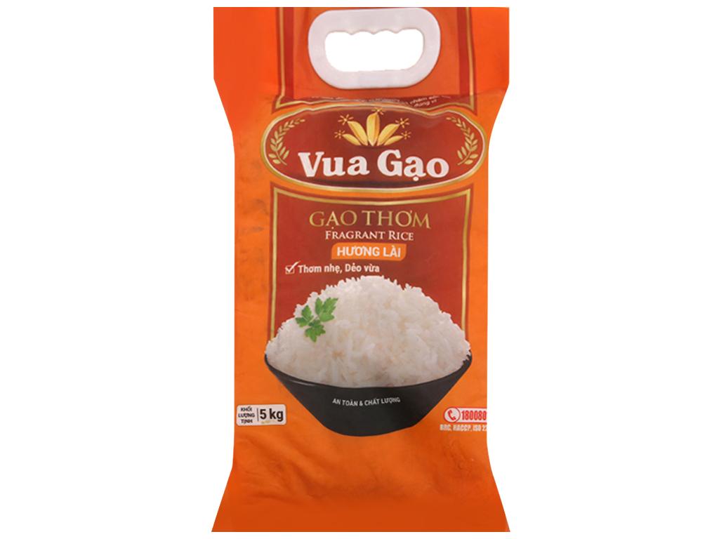 Gạo thơm hương lài Vua Gạo túi 5kg 1