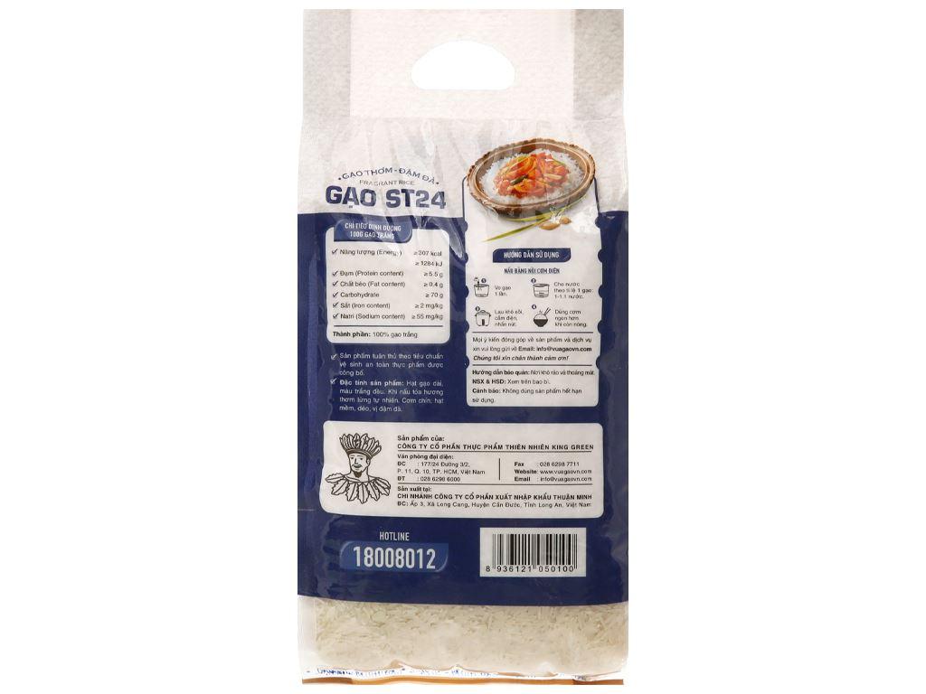 Gạo thơm Vua Gạo Đậm Đà túi 2kg 2