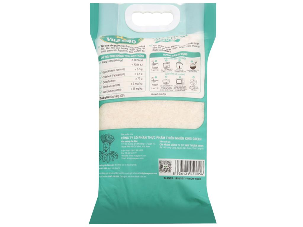 Gạo thơm Vua Gạo Đậm Đà túi 5kg 2