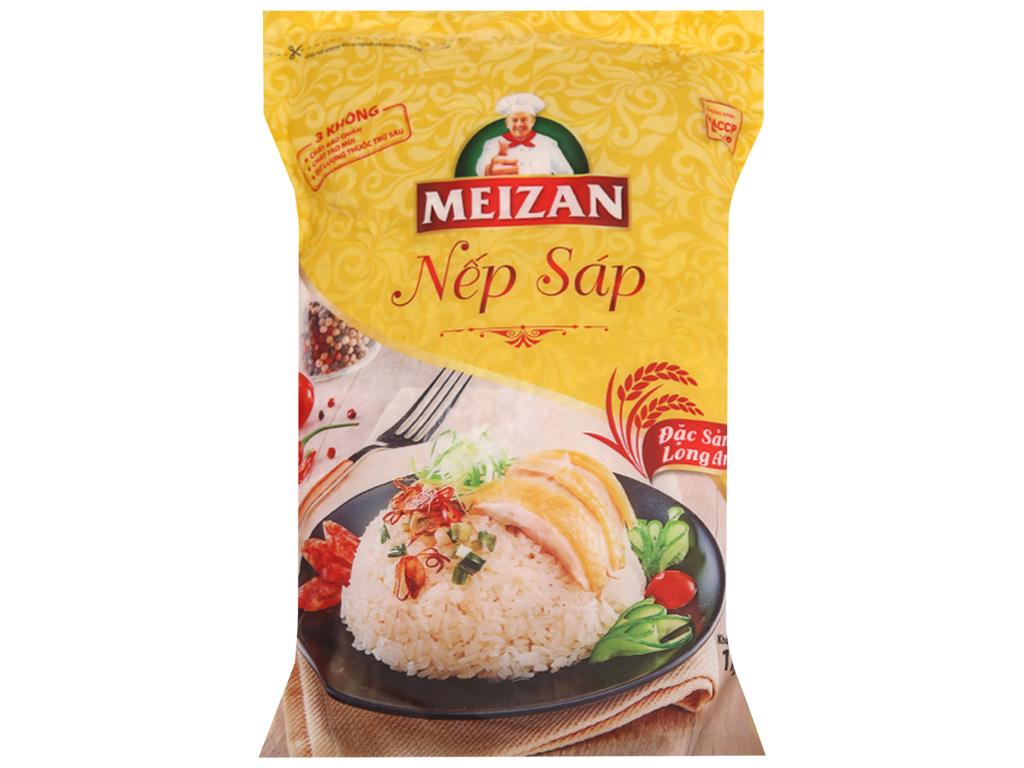 Nếp sáp Meizan Long An túi 1kg 2