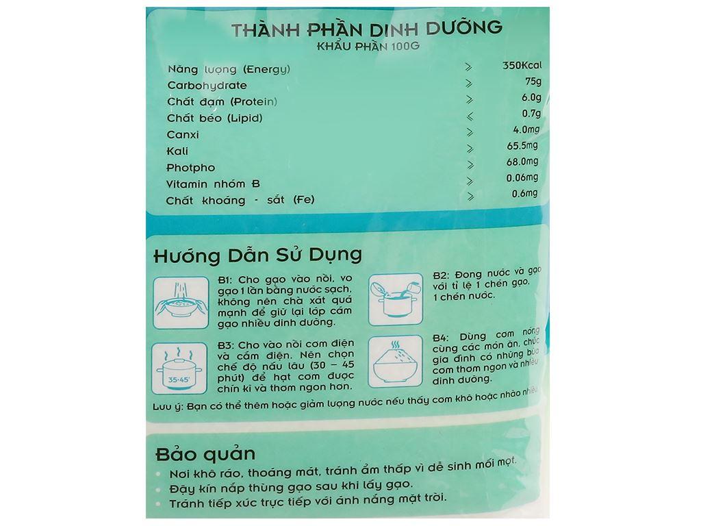 Gạo còn cám Vinh Hiển Khổng Tước Nguyên túi 5kg 9